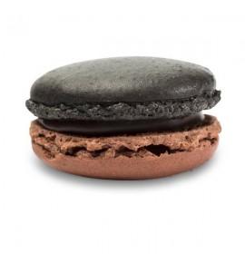 Macarons noir Grand cru
