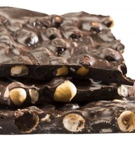 Chocolat Noir 70% - Noisettes