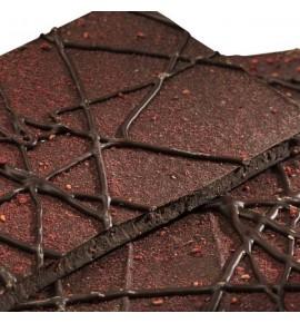 Chocolat noir framboise - sans sucre